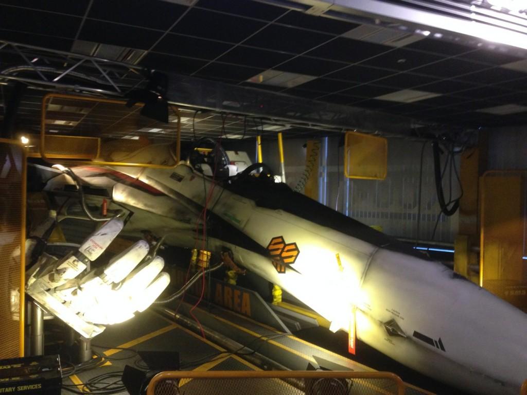 実物大マクロスF 『バルキリー VF-25F』②